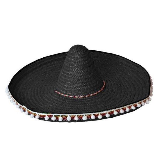 Black Mexican Sombero