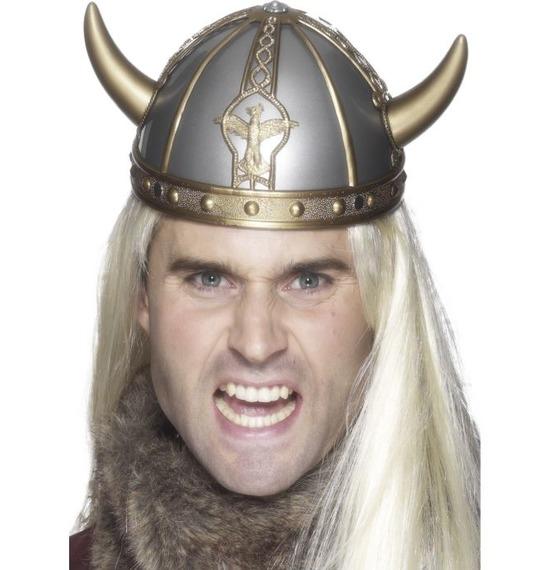 Viking Helmet, Silver