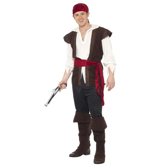 Pirate Costume, Black