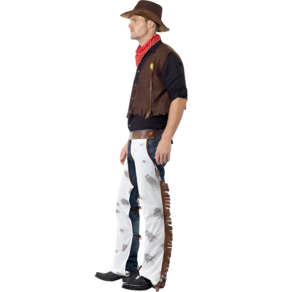 Cowboy Costume, Brown
