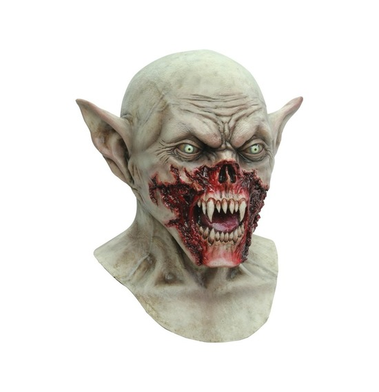 Demon Vampire Kurten Bloody Latex Mask