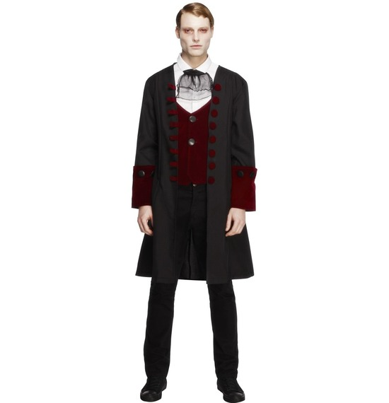Male Fever Gothic Vamp Costume by Smiffys