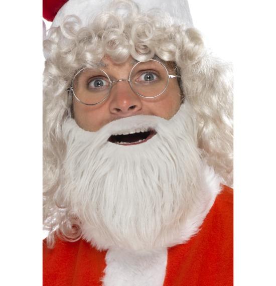 Santa Beard Faux Fur Pearl