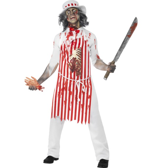 Hell's Kitchen Bloody Butcher Costume by Smiffys