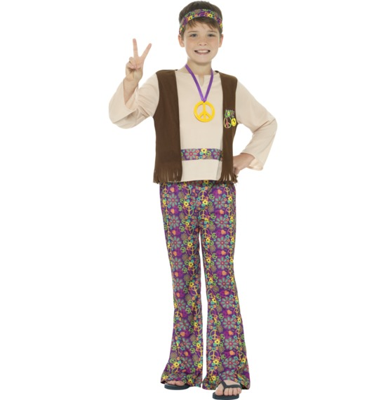 Hippie Boy Costume by Smiffys