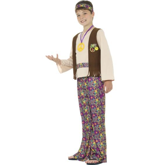 Hippie Boy Costume by Smiffys