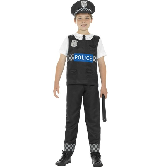 Cop Costume by Smiffys