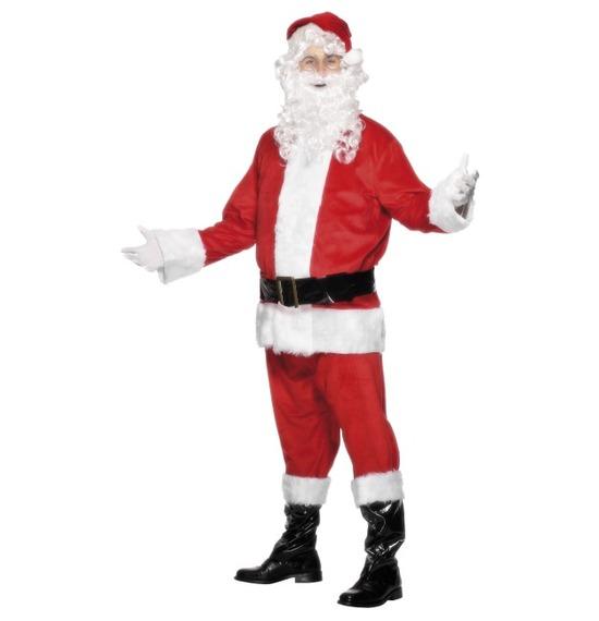 Deluxe Santa Costume & Beard