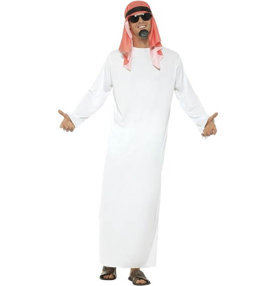 Fake Sheikh Arab Costume