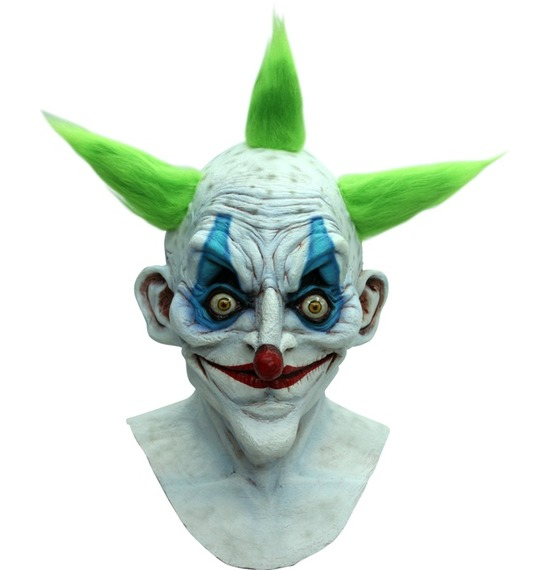 Old Vintage Clown Latex Mask
