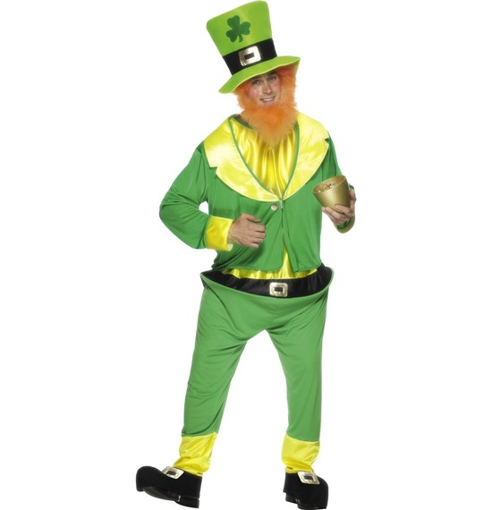 Leprechaun Costume, Green