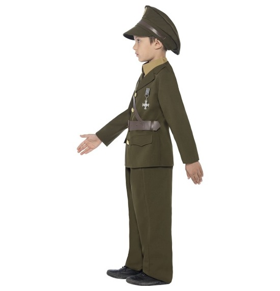 Army Officer Costume by Smiffys