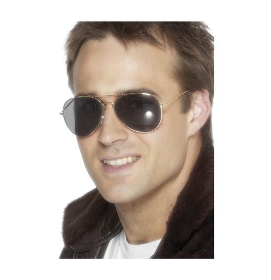 Aviator Specs Gold Frame