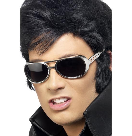 Elvis Shades Silver