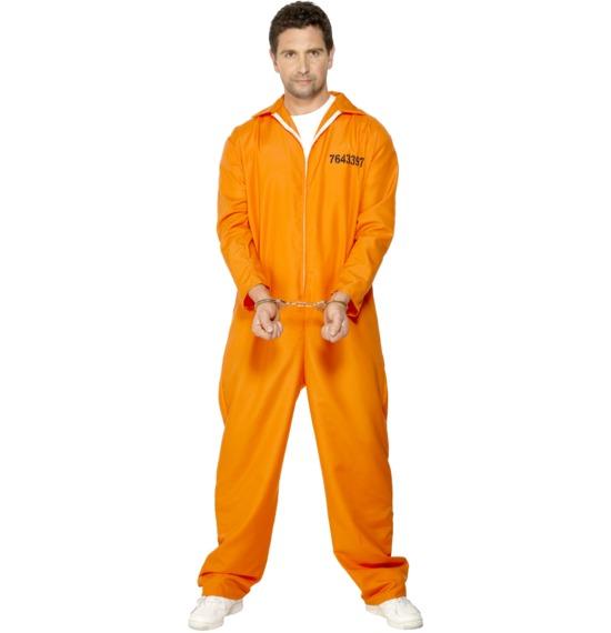 Escaped Prisoner Costume, Orange