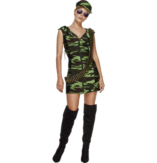 Fever Combat Girl Costume