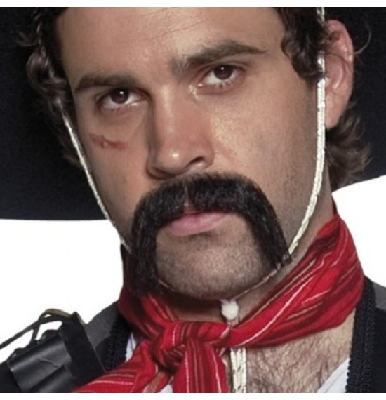 Authentic Western Mexican Moustache