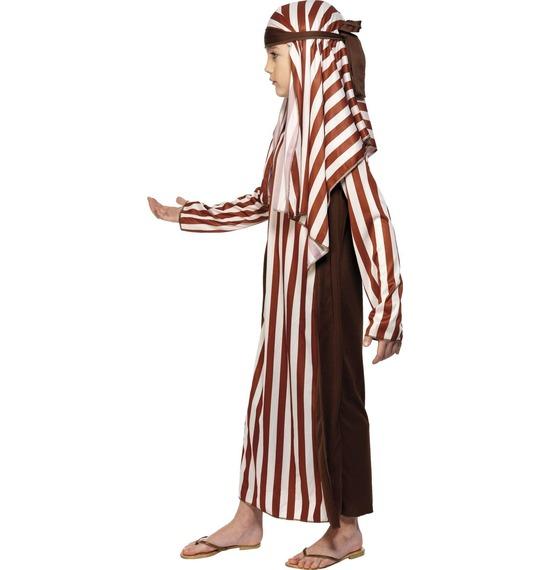 Shepherd Costume, Brown & White