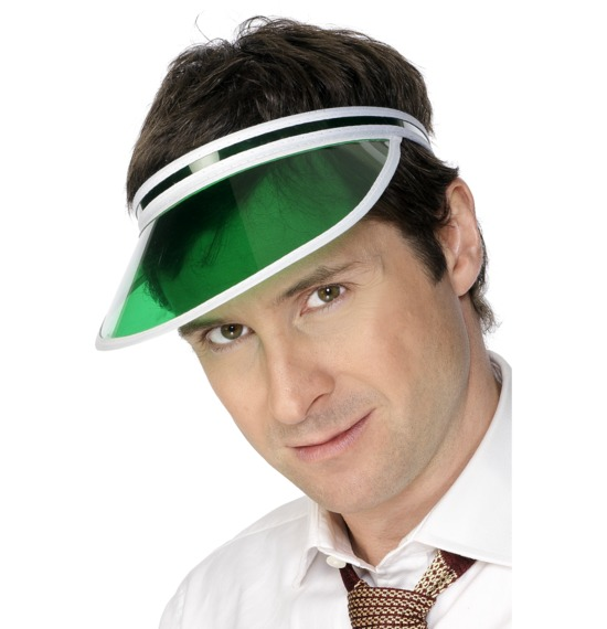 Poker Visor Green