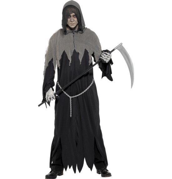Grim Reaper Robe Costume by Smiffys