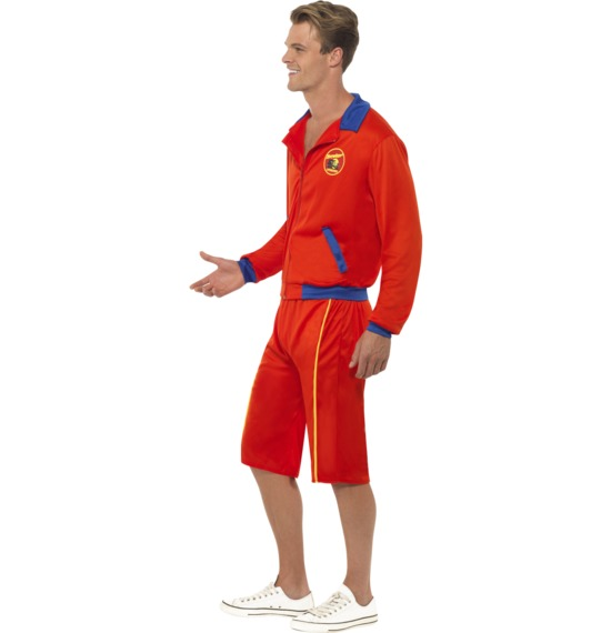 Baywatch Beach Men's Lifeguard Costume