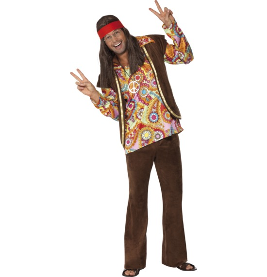 Psychedelic 1960s Hippy Costume