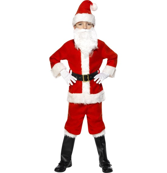 Deluxe Santa Costume by Smiffys