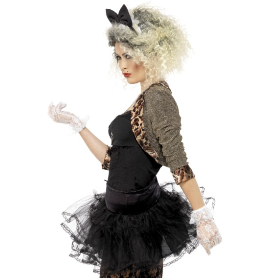 80S Wild Child Costume, Black.