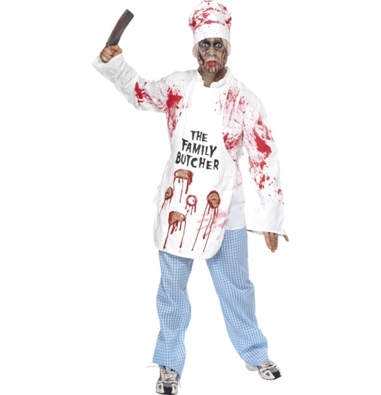 Deadly Chef Costume by Smiffys