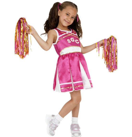 Cheerleader Costume by Smiffys