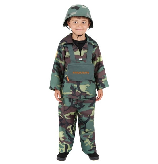 Army Boy Costume by Smiffys