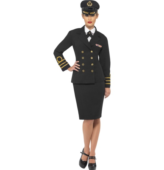 Navy Officer Costume Ladies