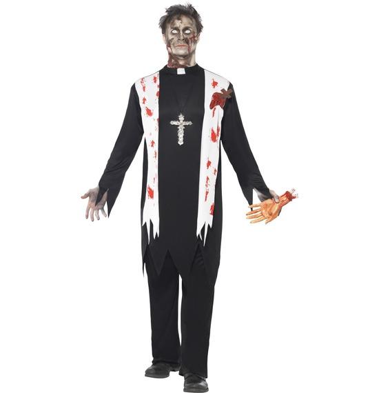 Zombie Priest Costume