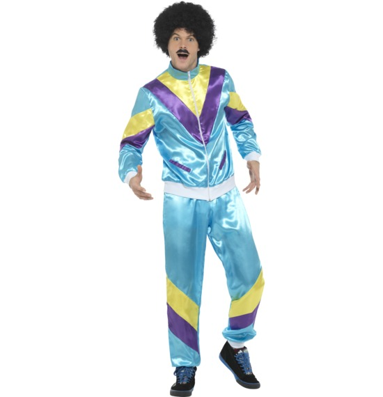 80'S Height Of Fashion Shell Suit Costume