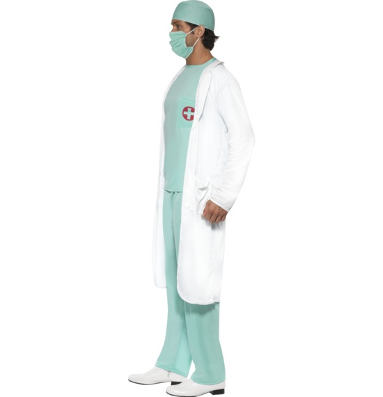 Doctor's Costume, White