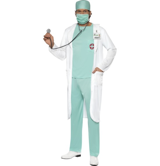 Doctor's Costume, White