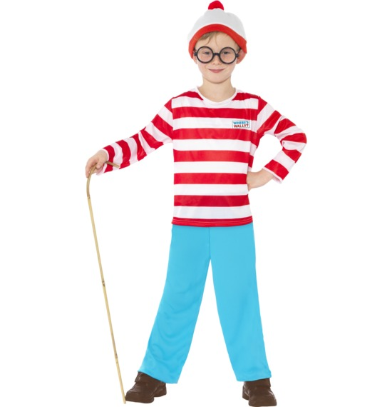 Where's Wally? Child Costume