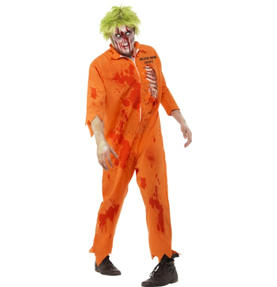 Zombie Death Row Inmate Costume by Smiffys