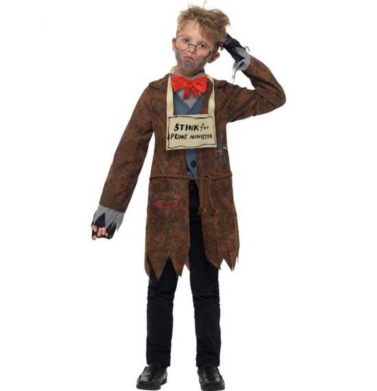 David Walliams Deluxe Mr Stink Costume by Smiffys