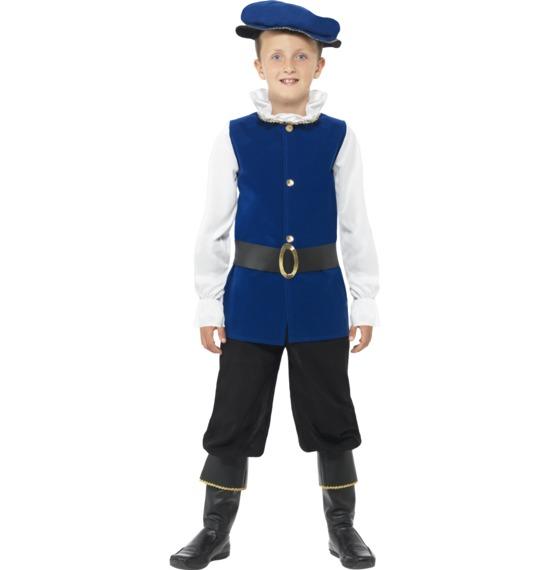 Tudor Boy Costume