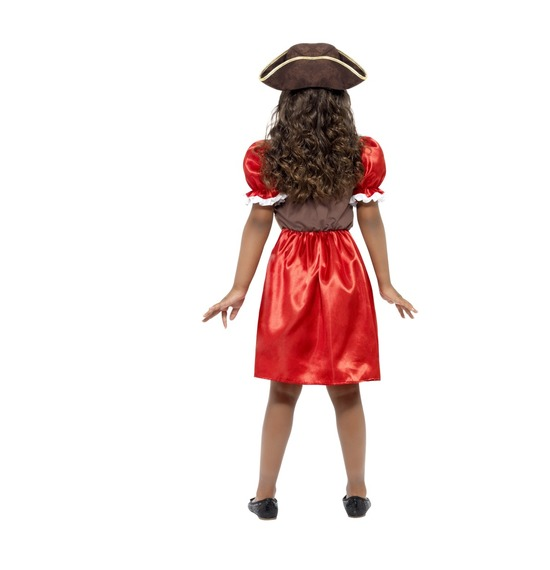 Girls Pirate Captain Costume by Smiffys