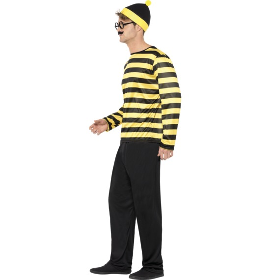 Where's Wally? Odlaw Costume