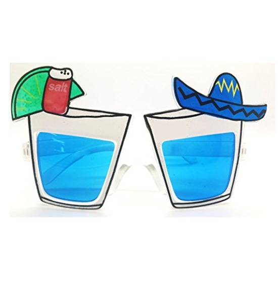 Blue Mexican Glasses