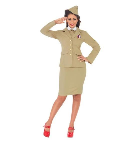 Retro Officer Costume