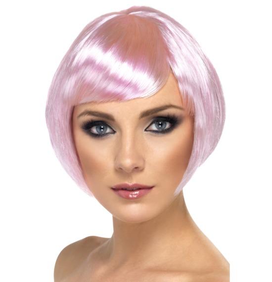 Babe Wig Pink Short Bob
