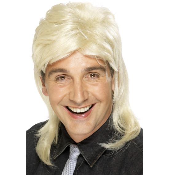 Mullet Wig Blonde