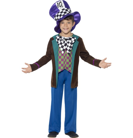 Deluxe Hatter Costume by Smiffys