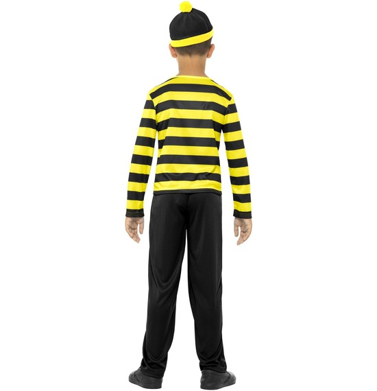 Where's Wally Odlaw Childrens Costume