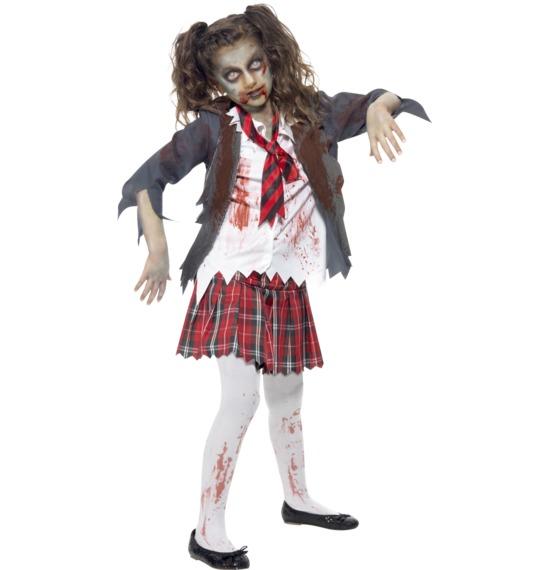 Zombie School Girl Costume