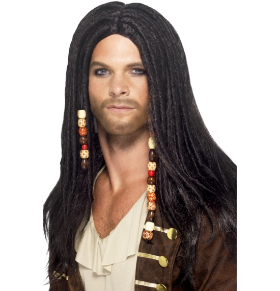Black Pirate Wig